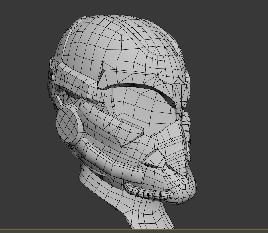 low poly and baking. normals+ao