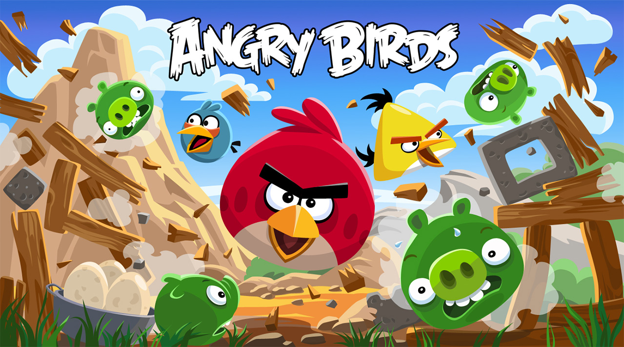 Marketing works for Angry Birds