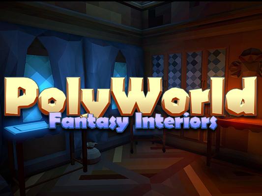 PolyWorld: Low Poly Fantasy Interiors