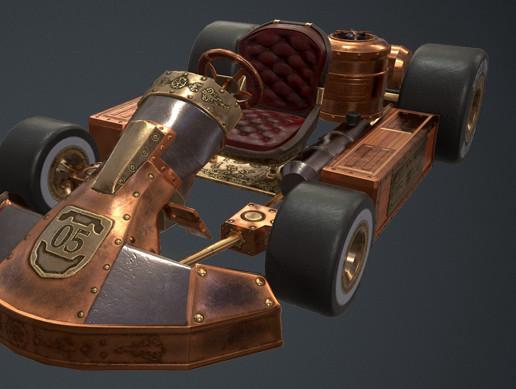 Steampunk Kart