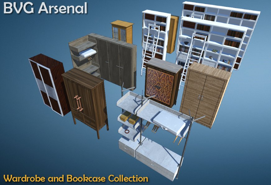 Wardrobe and Bookcase Collection