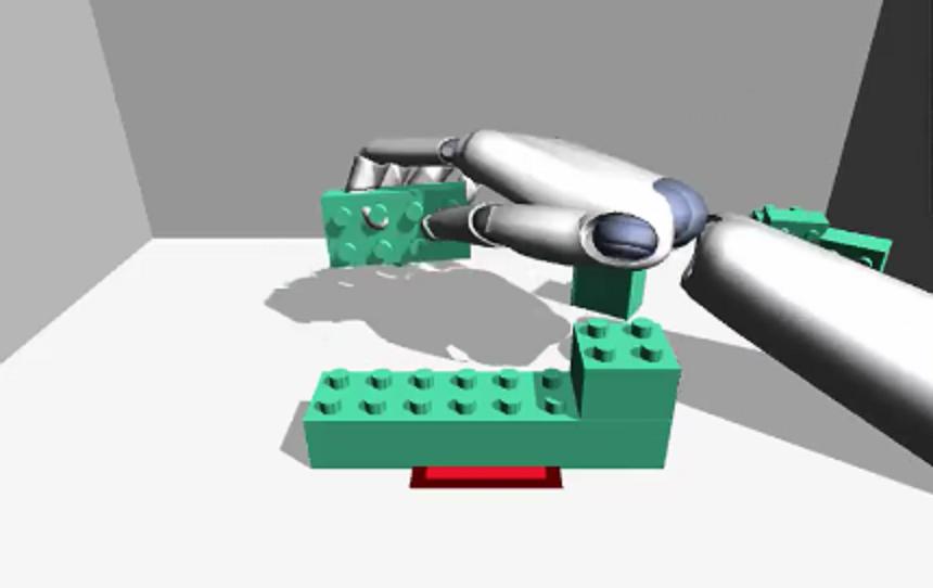 VR Lego Building Game