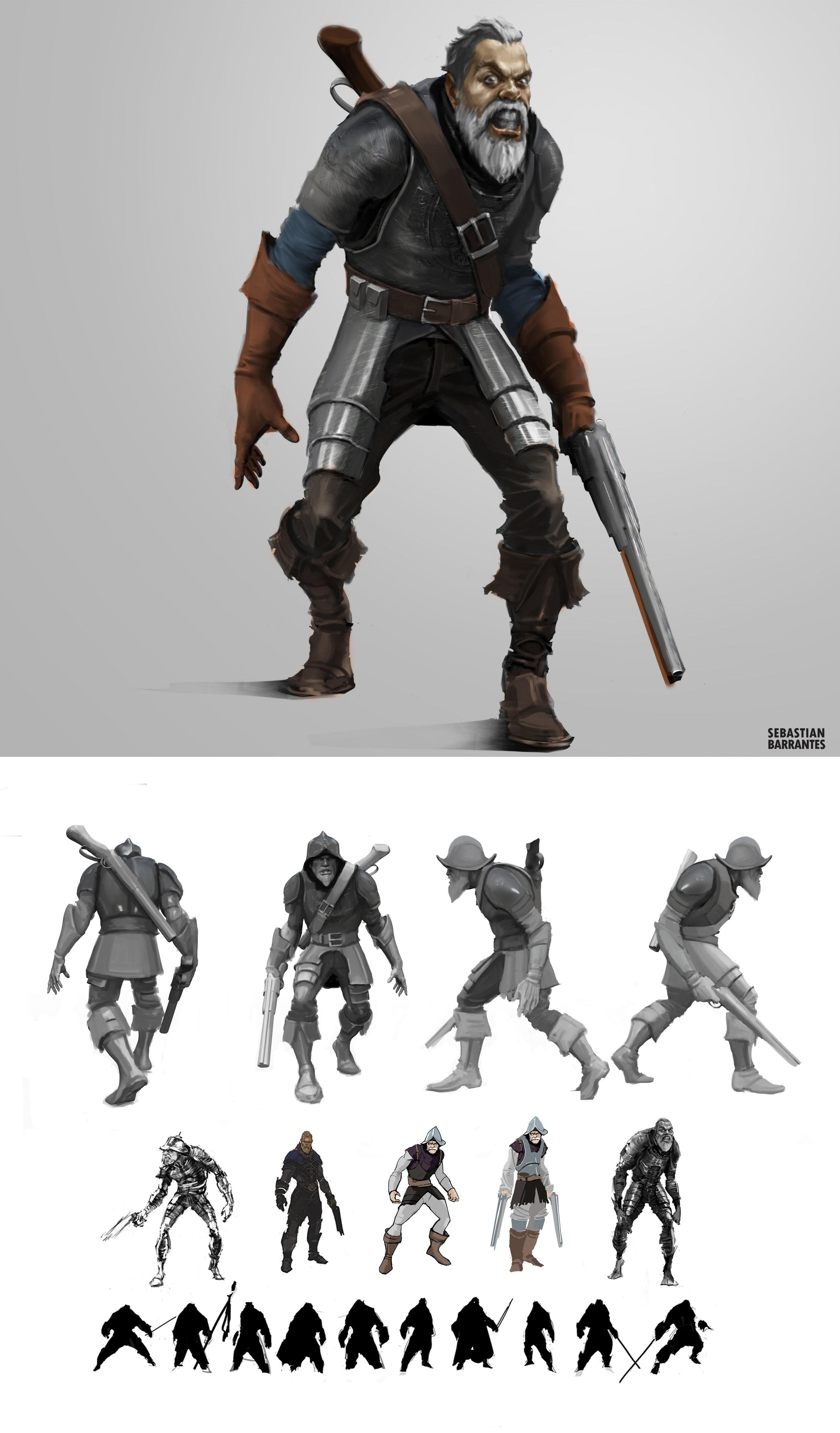Villain Character Design.