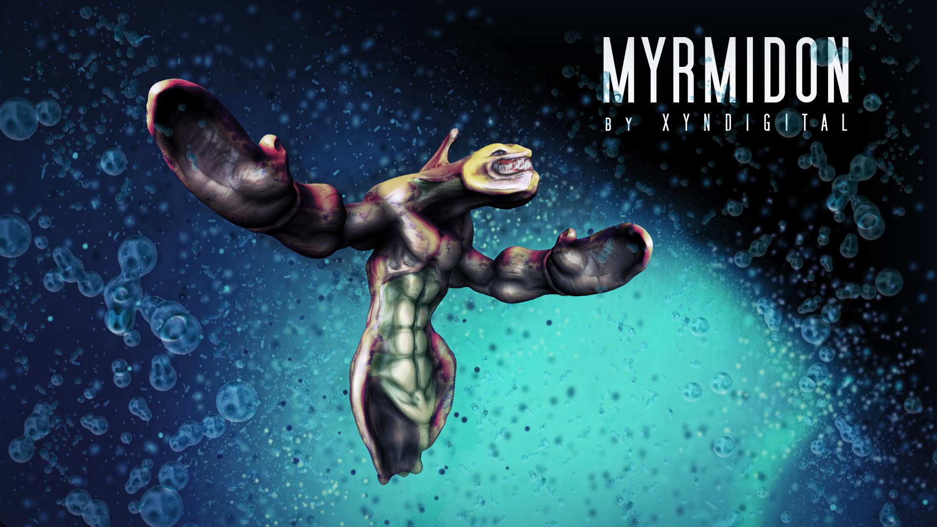 Myrmidon | Character Concept