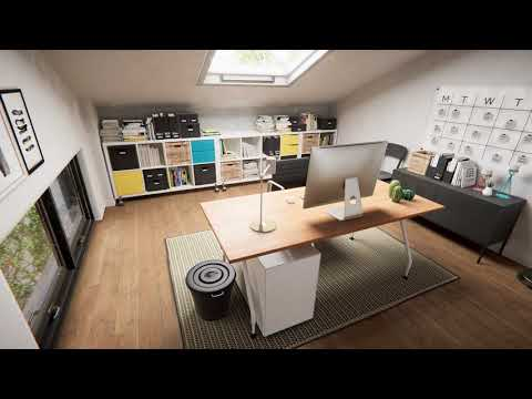 Virtual reality Interior design experience - 4K