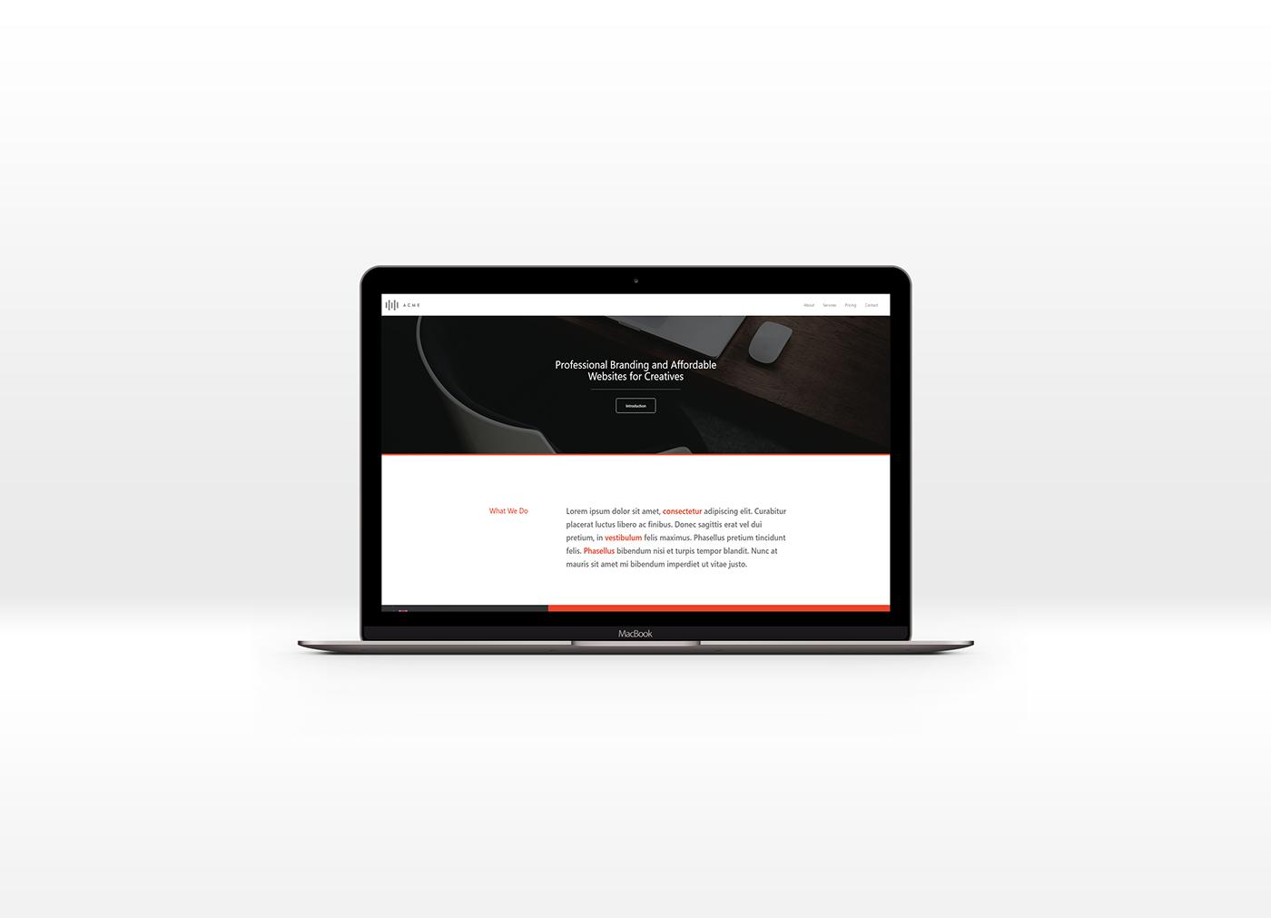 Free Download // Responsive Website Template