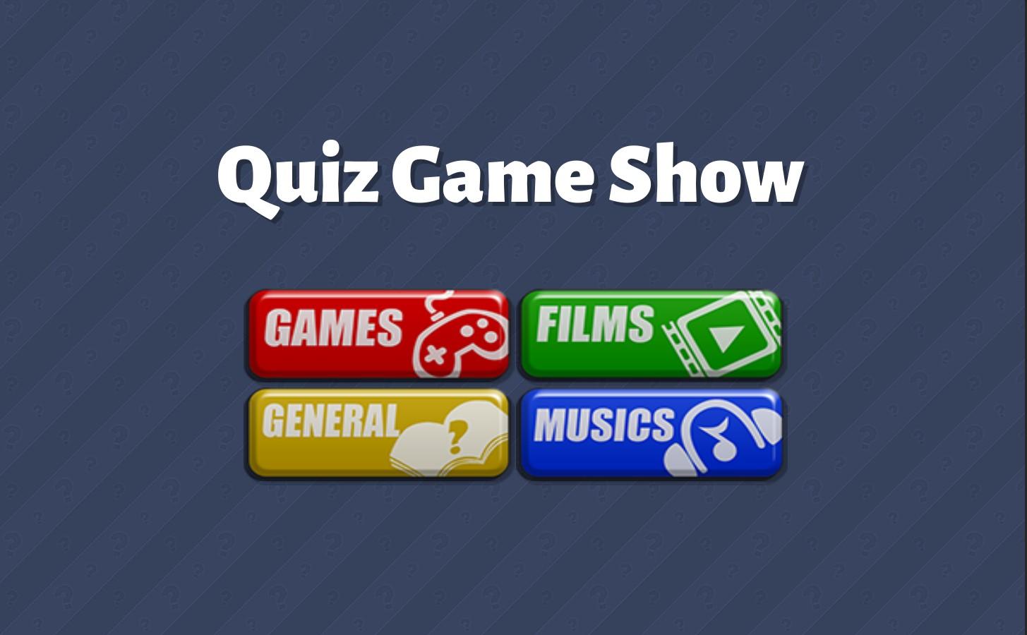 Quiz Game Show