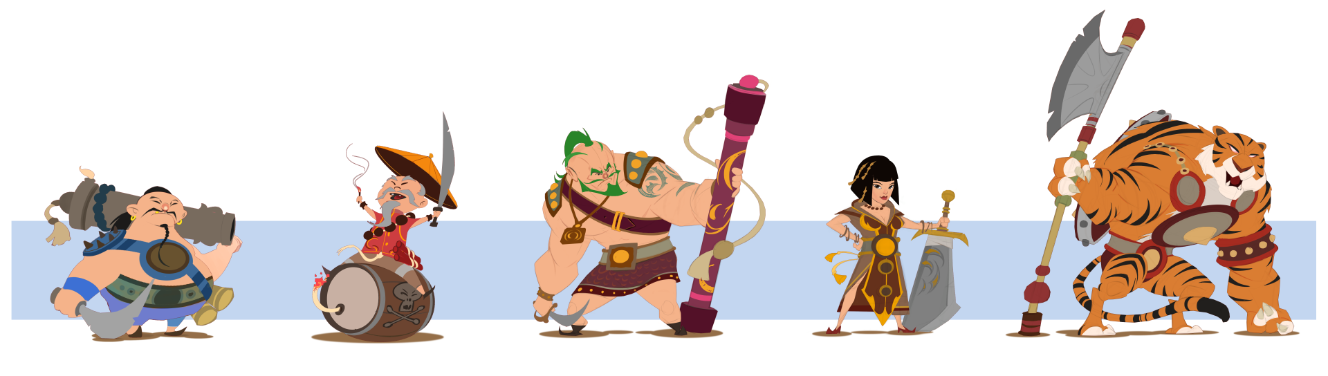 Pirates Concepts