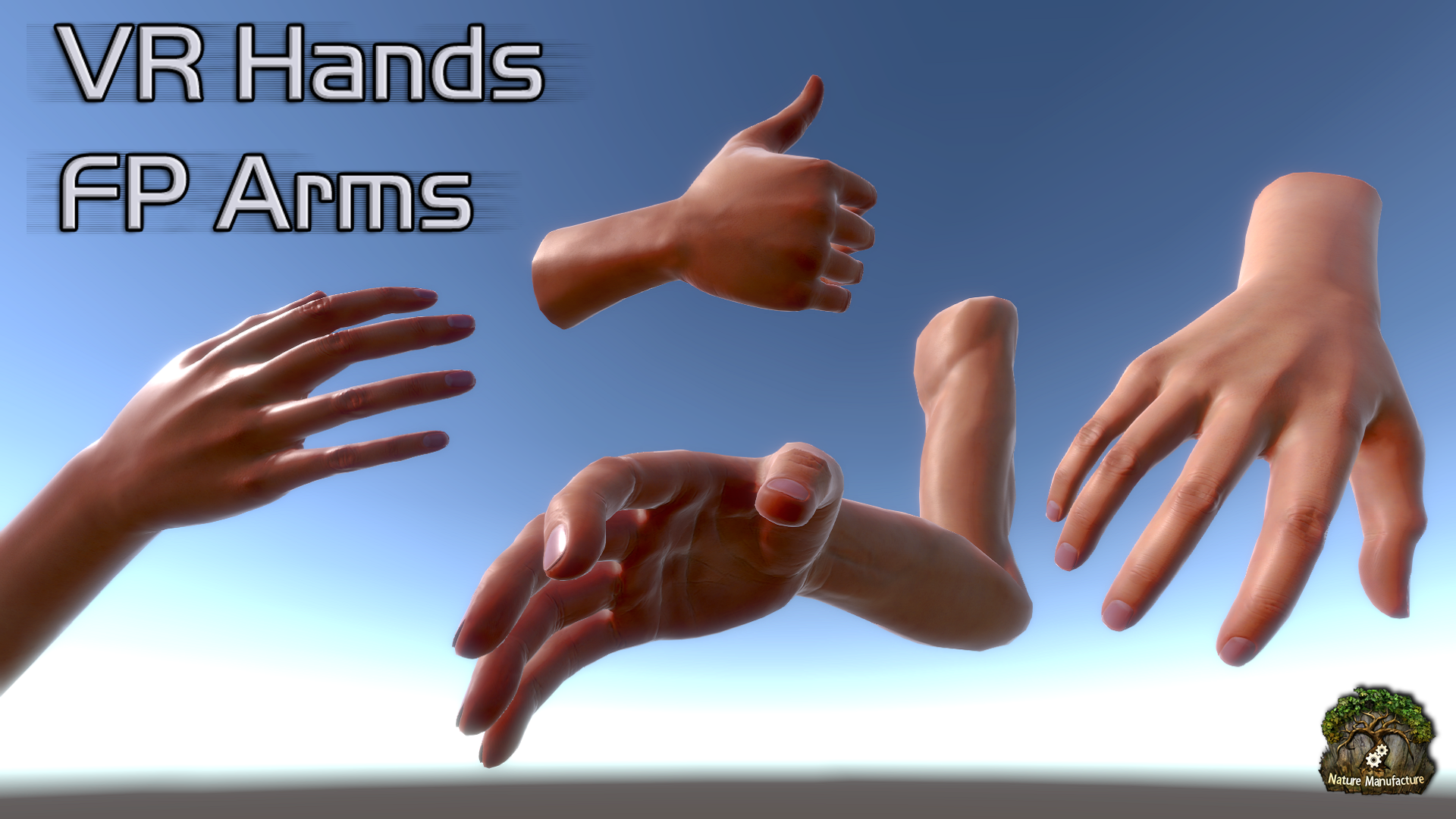VR Hands FP Arms