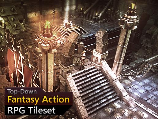 Fantasy Action RPG Tileset