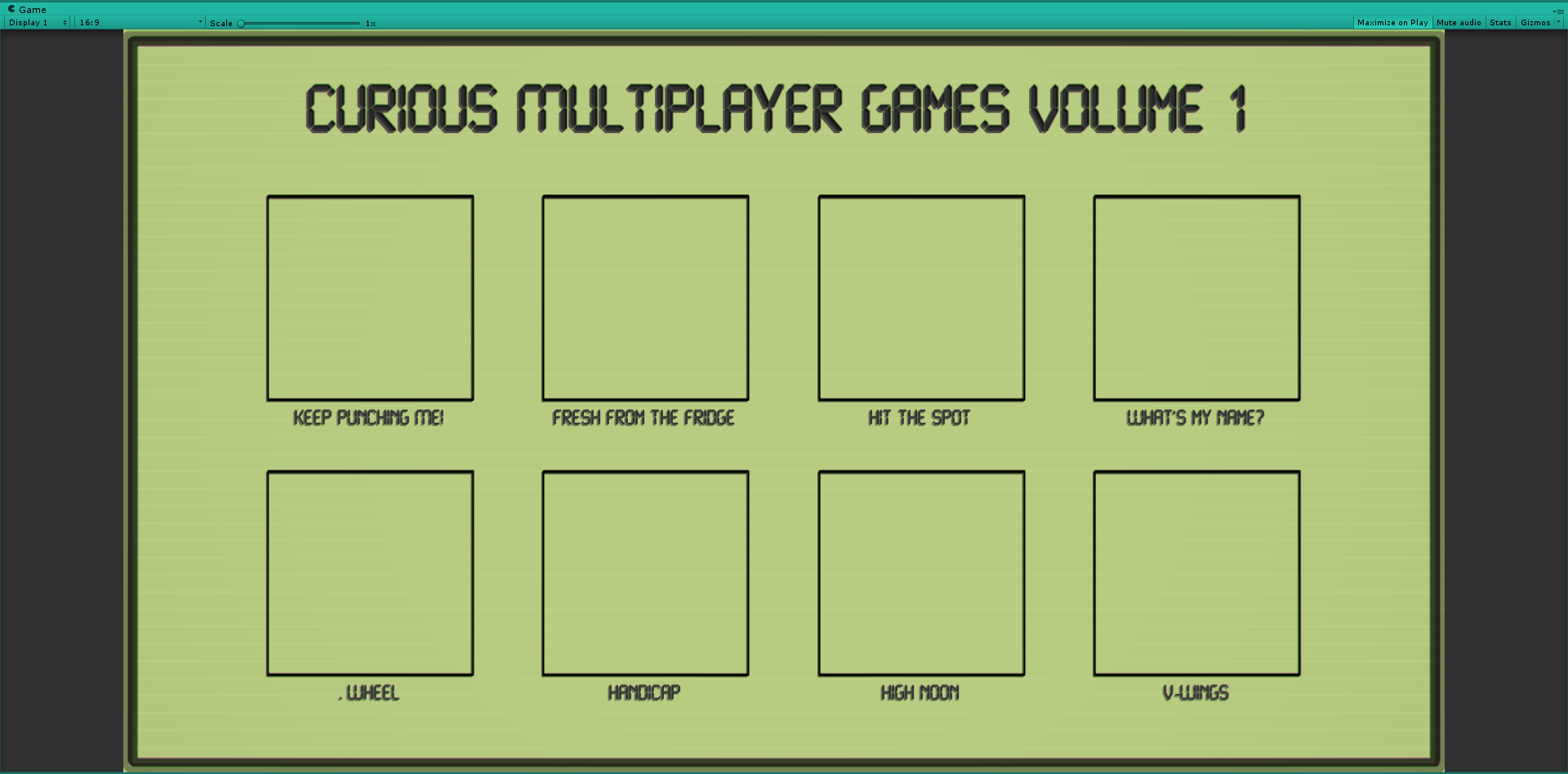 Curious Multiplayer Games Volume 1