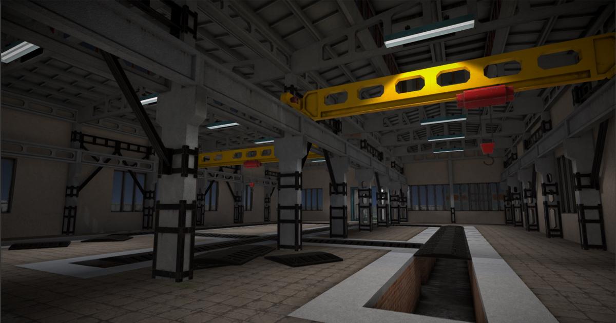 Modular factory environment С