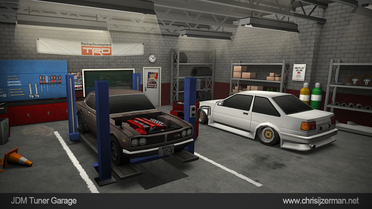 JDM Tuner Garage