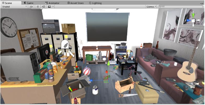 VR Hoarding Enviroment