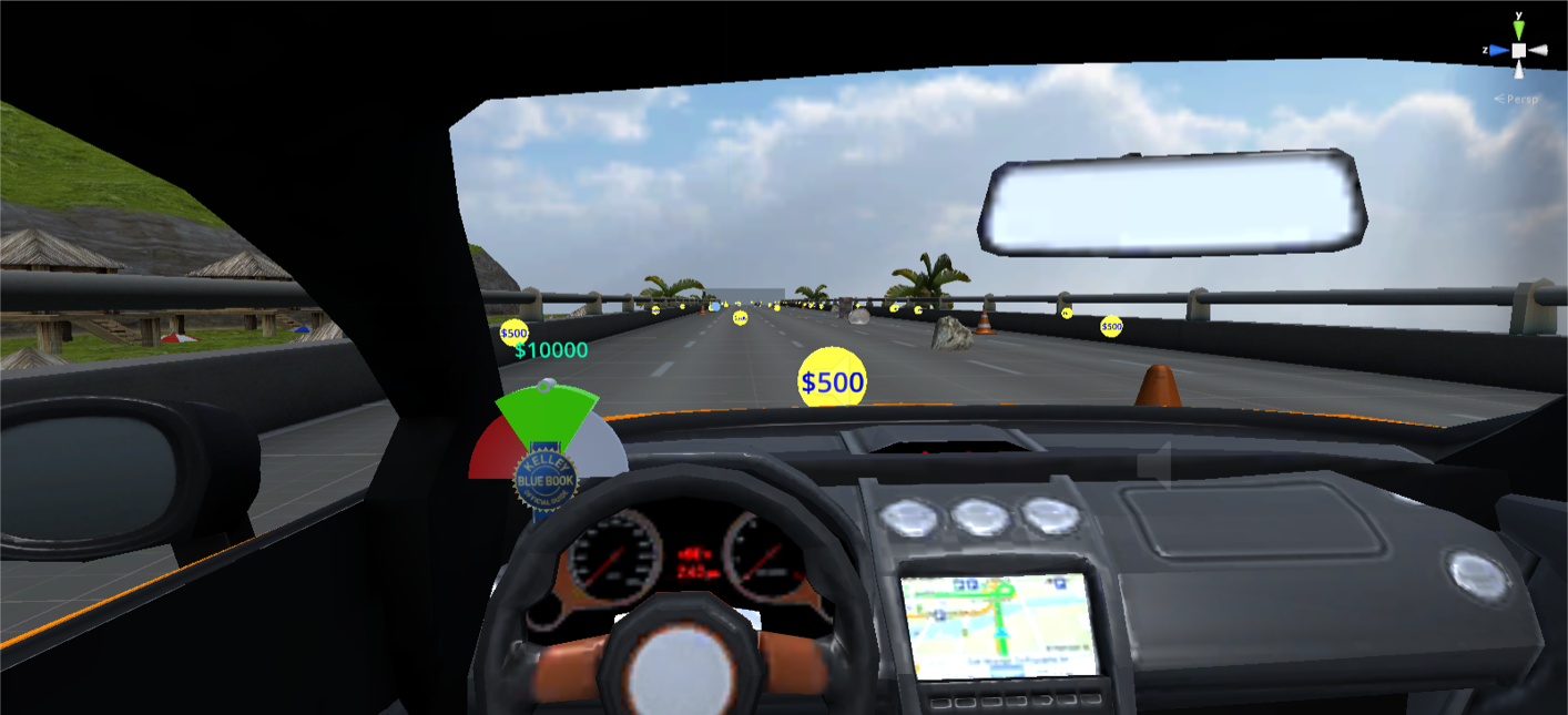 Gear VR Driving Game