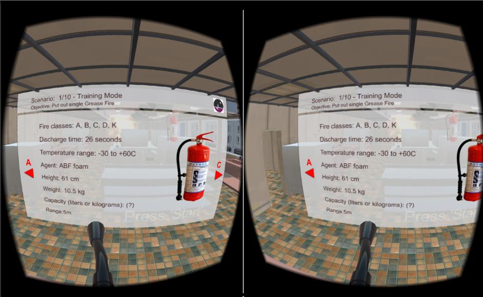 VR Fire Training Simulator