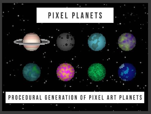 Pixel Planets