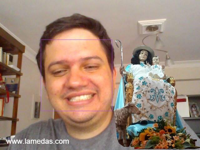 """La Divina Pastora"" Augmented."