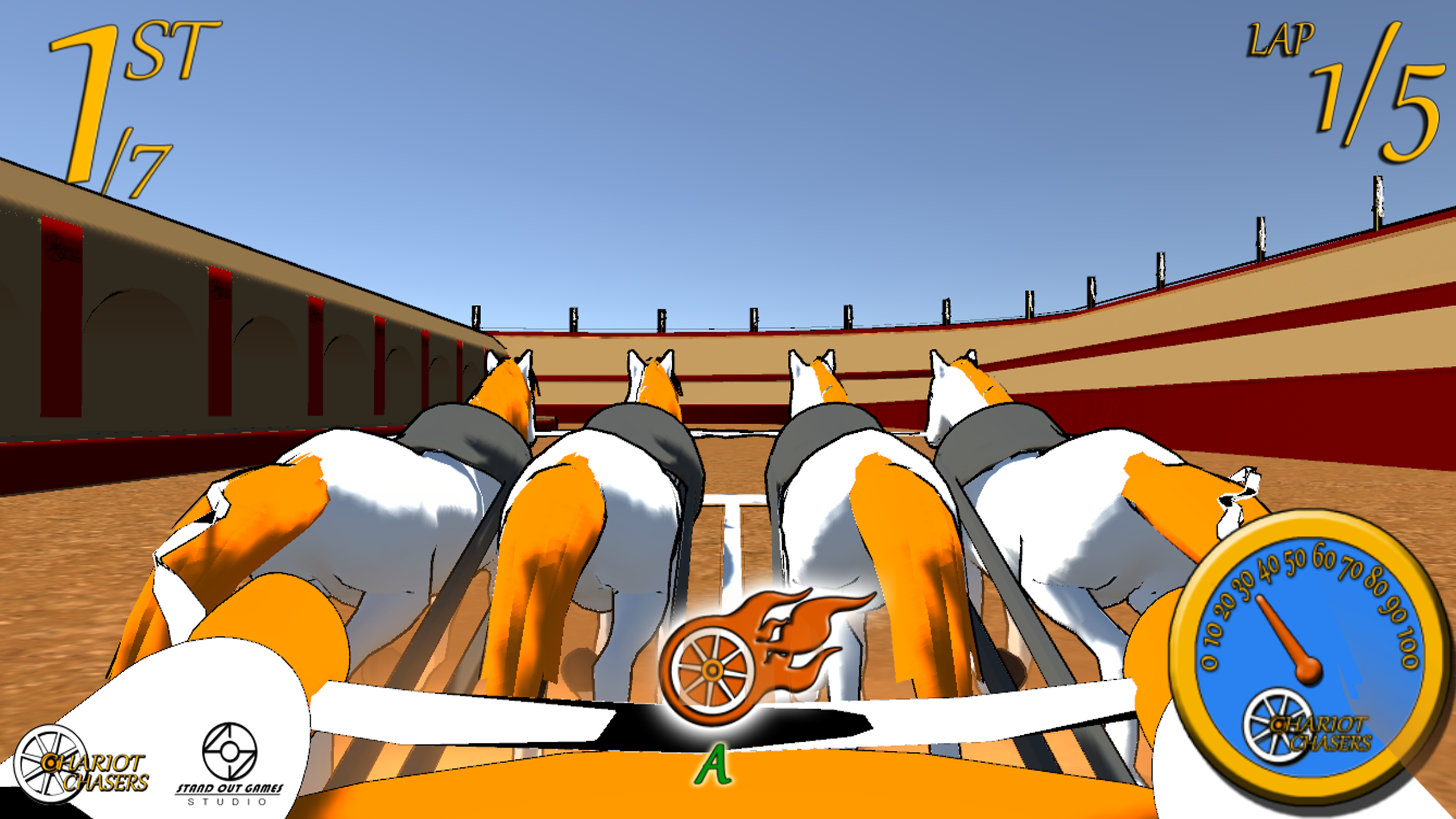 Chariot Chasers VR
