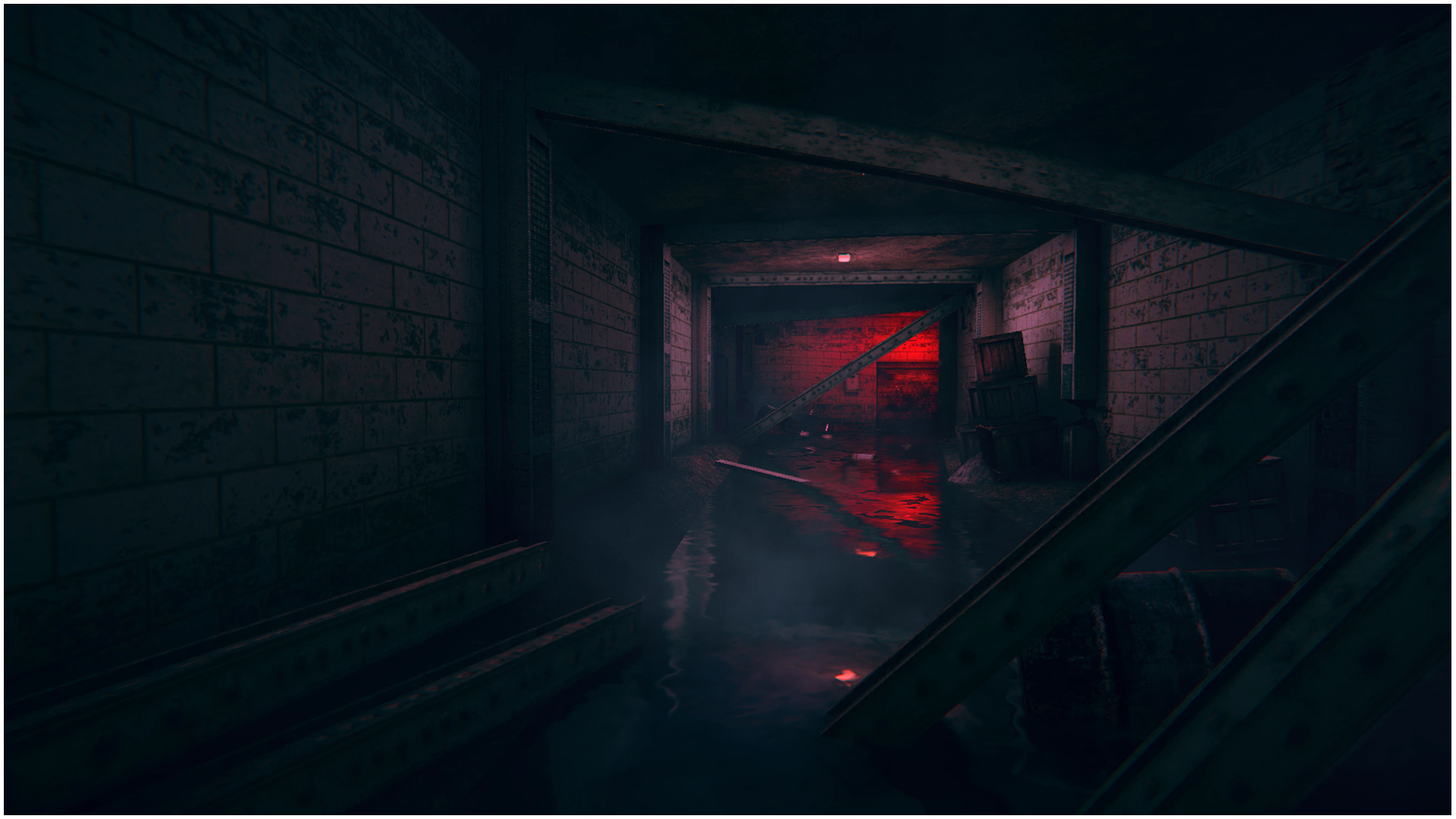An Underground Corridor S cene in Unity 3d ( In House Game Project )