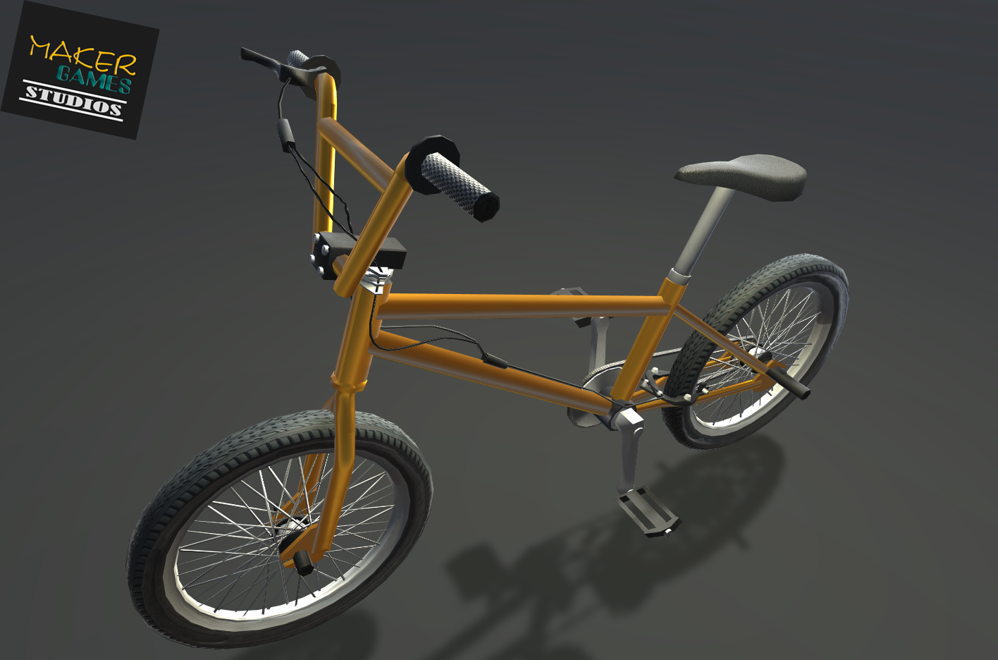 Low Poly PBR Bicycle