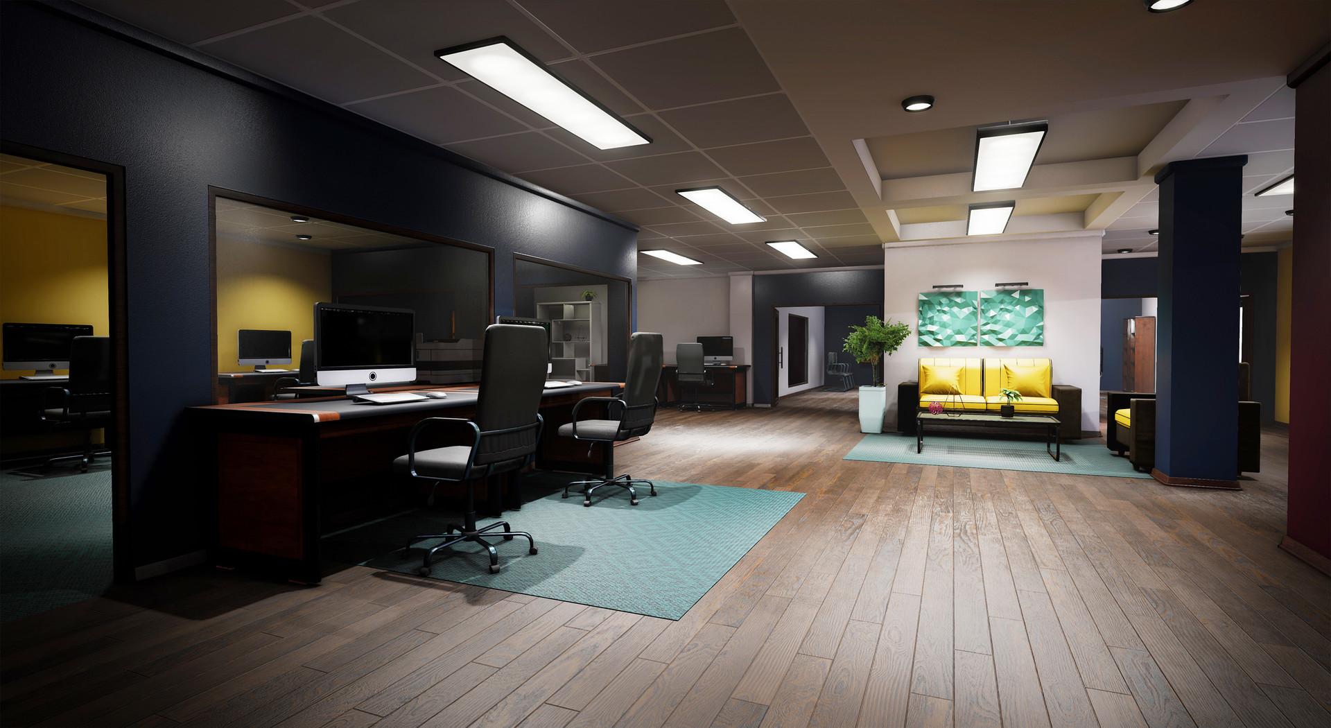 Modular Office Environment