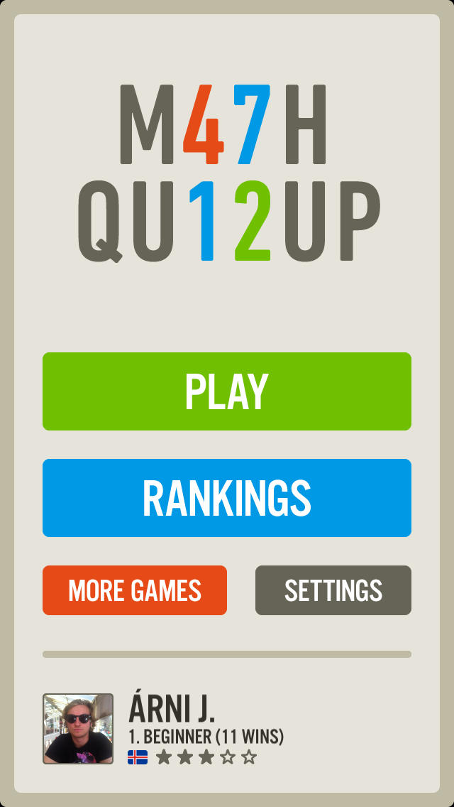 QuizUp Satelite Apps (Unavailable)
