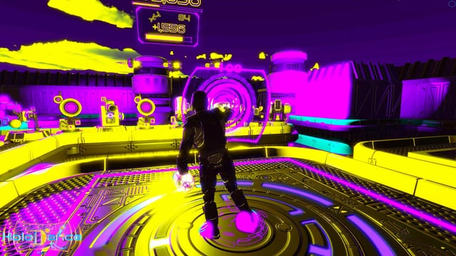Christmas Present to our Players: Holodance Psychedelic Mode
