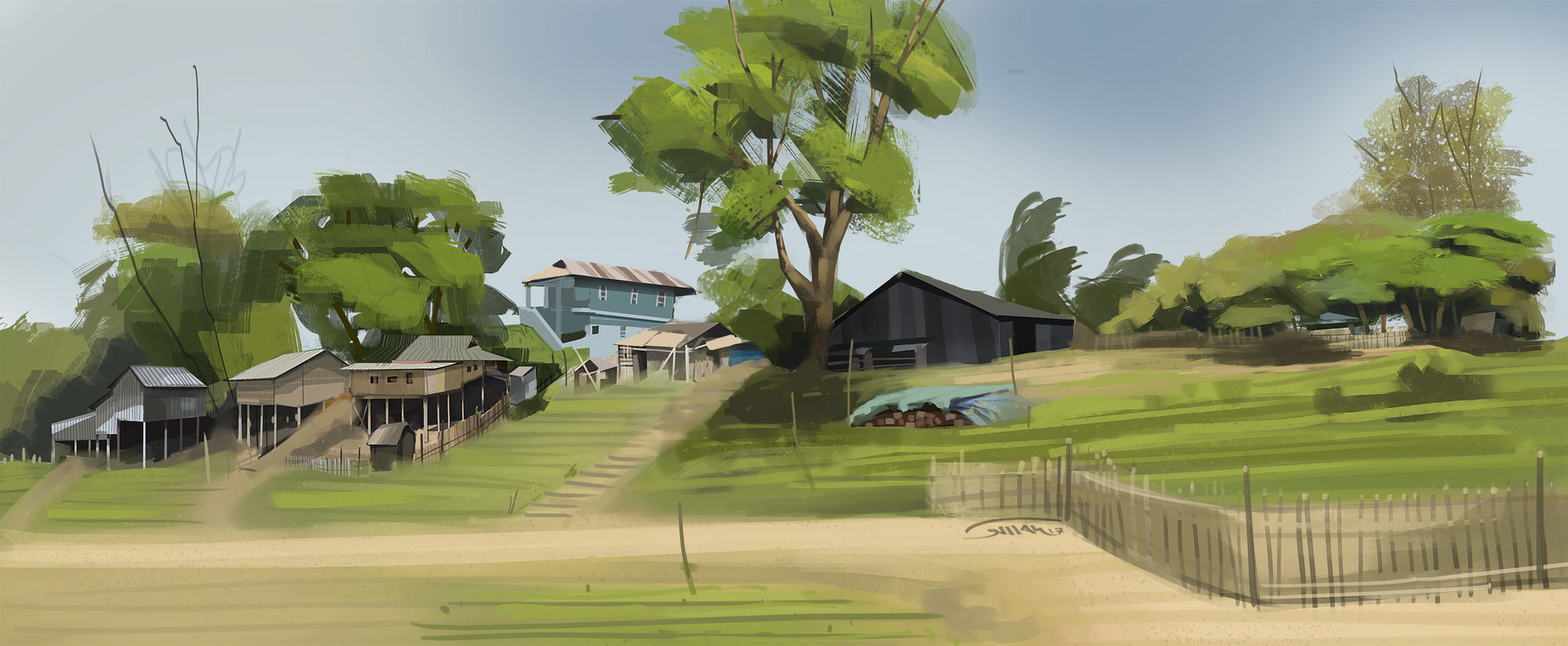 Virtual Plein Air Painting