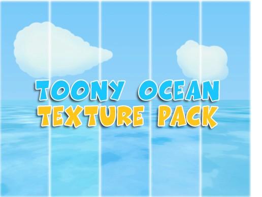 Toony ocean texture pack