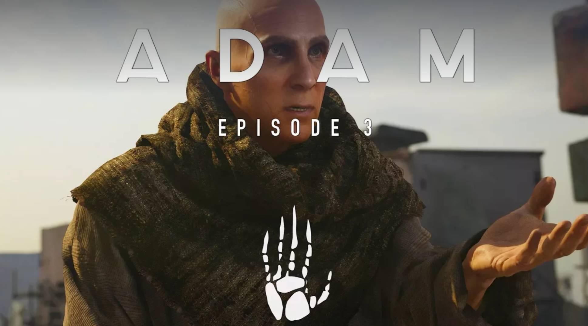 Unity实时渲染电影短片《ADAM 3》发布!