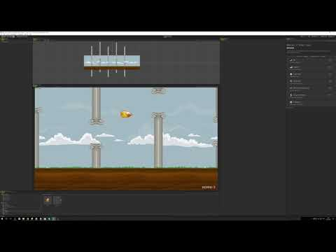 Flappy Bird Clone (with Design patterns : Object Pooling and Singleton )