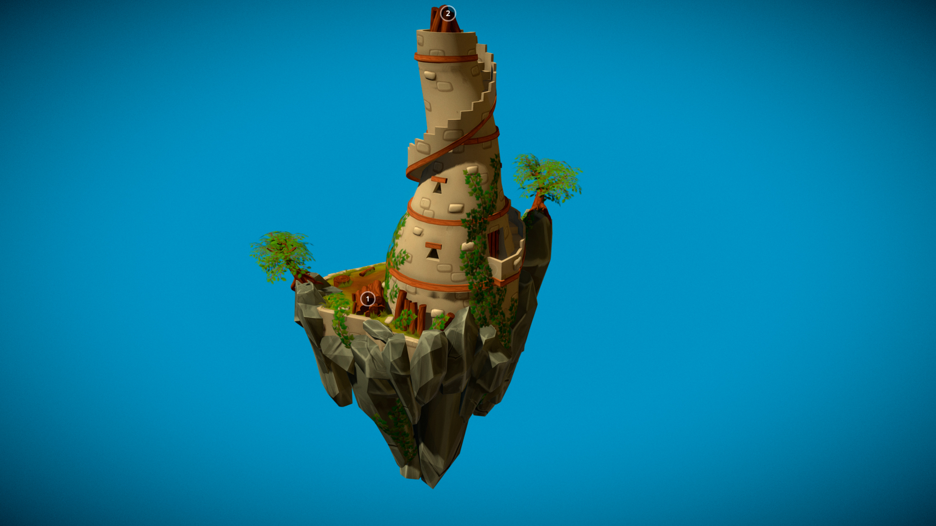 Stylized Tower
