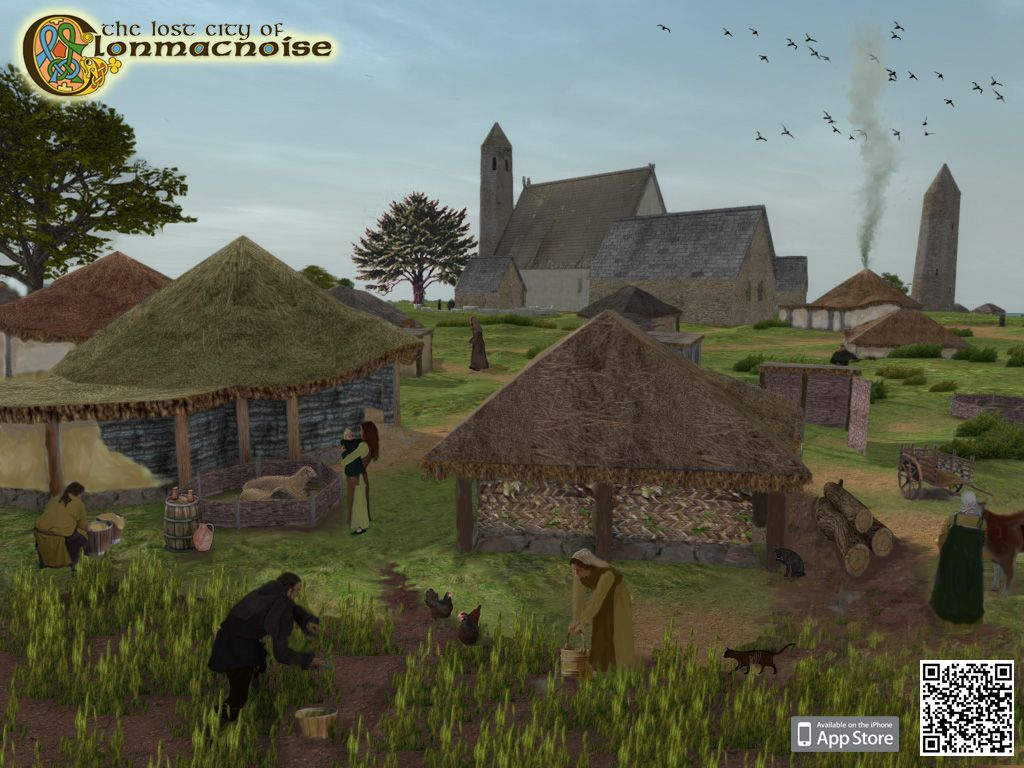 The Lost City of Clonmacnoise 3D Mixed Reality App