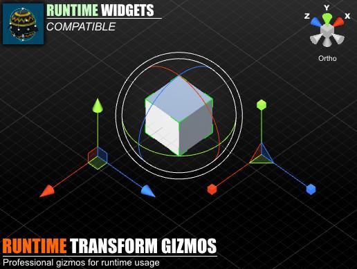 Runtime Transform Gizmos