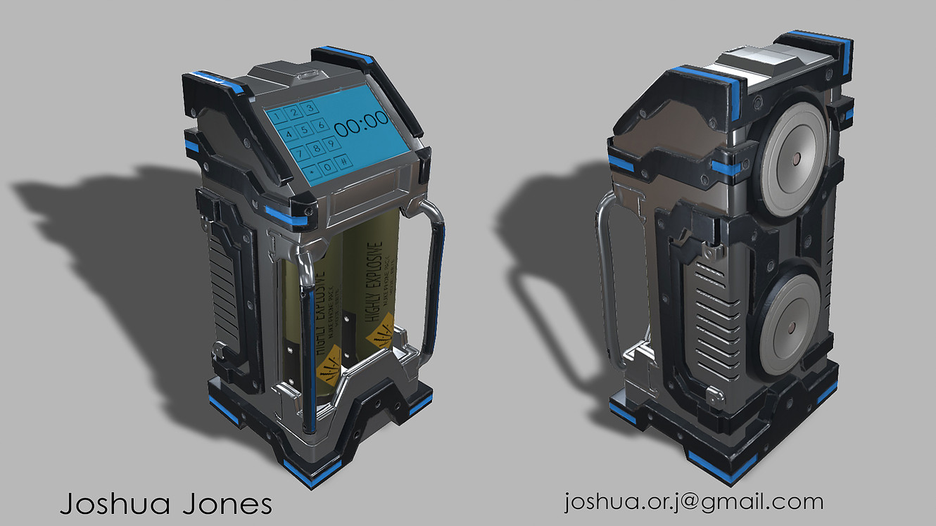 Battery Pack 3D Asset