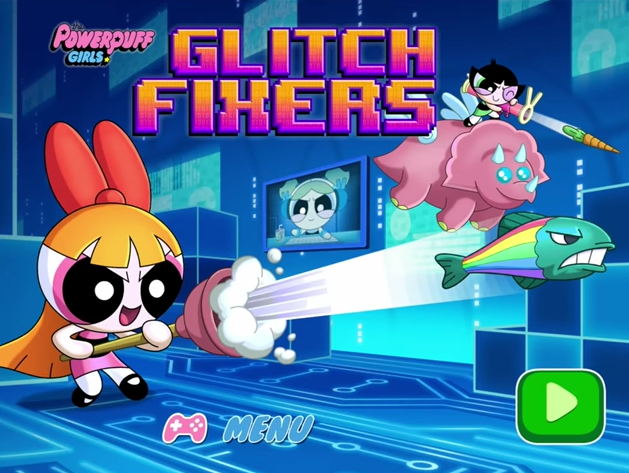 Powerpuff Girls Glitch Fixers