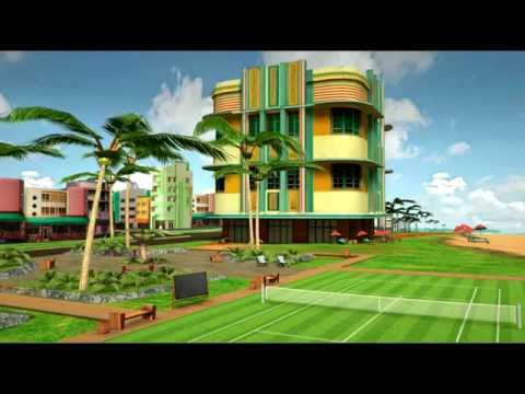 World of Tennis Roaring 20's (Environment Artist, Technical Artist)