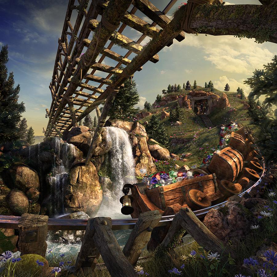 Disney's Seven Dwarfs Mine Train