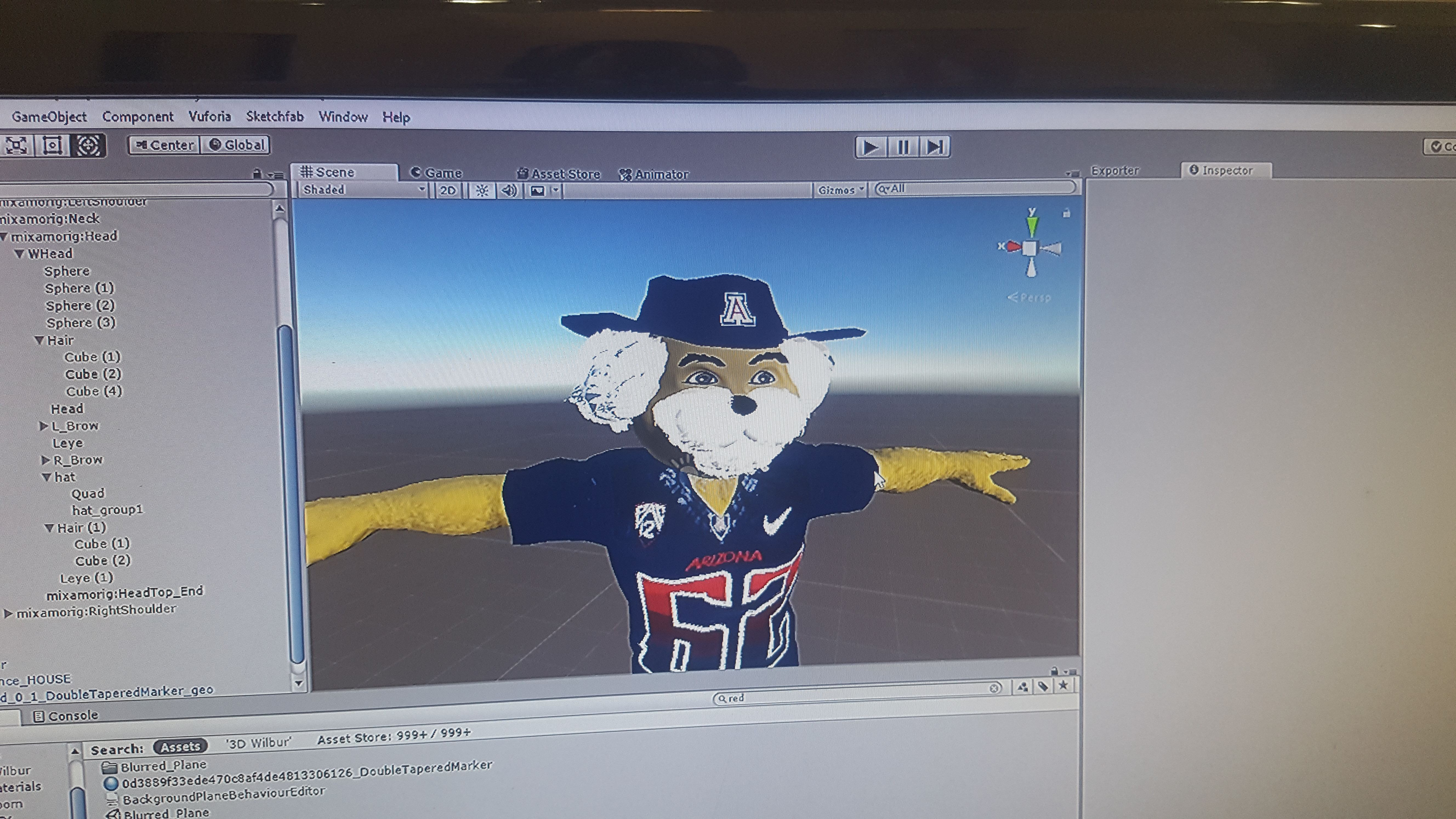 University of Arizona: Homecoming VR