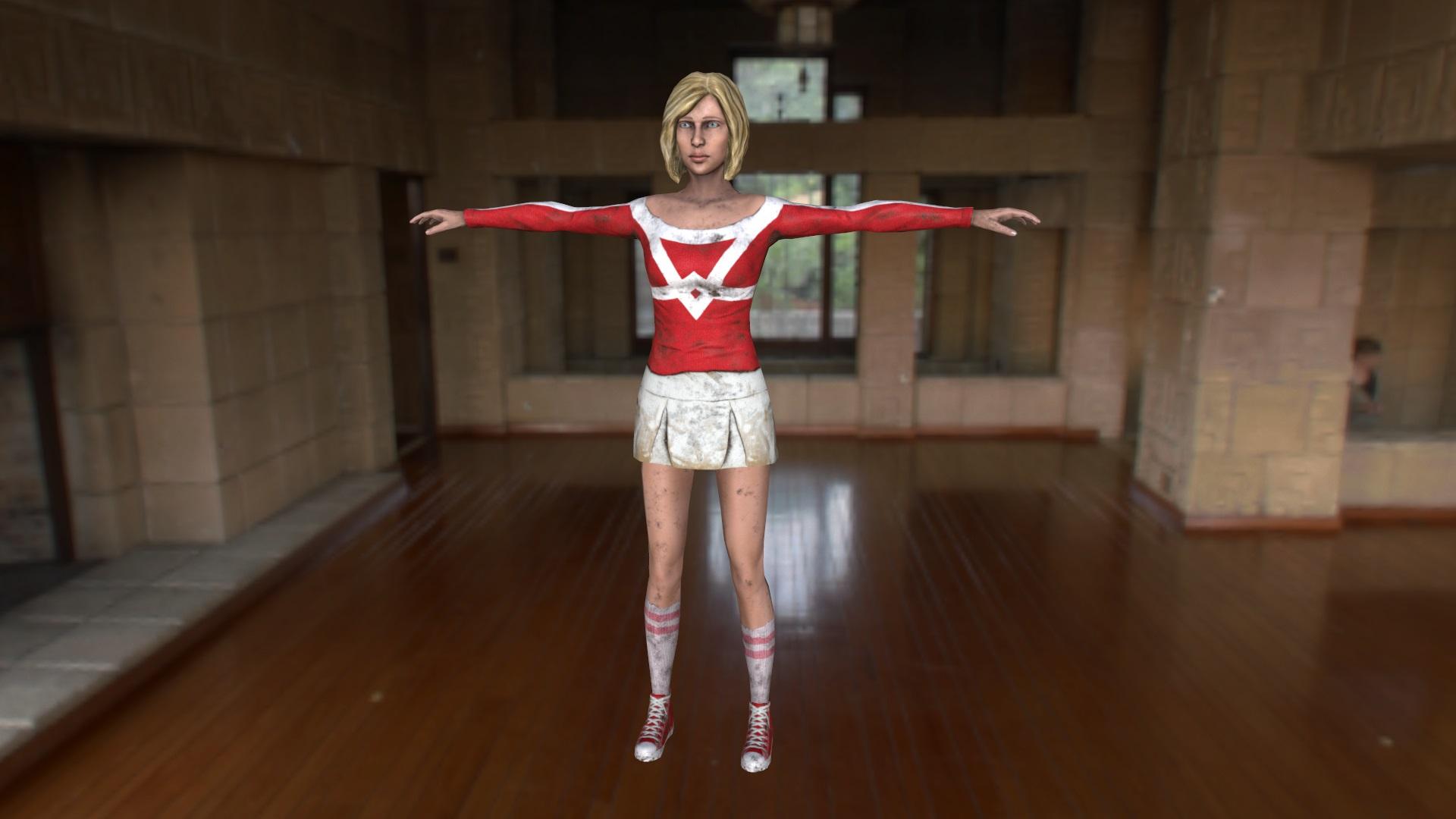 3D Character Art - Dead Runner - Inner Evil