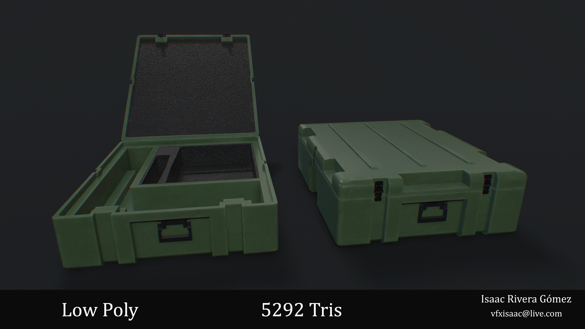 Plastic Military Box