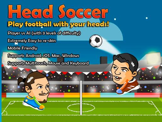 Head Soccer Game Kit