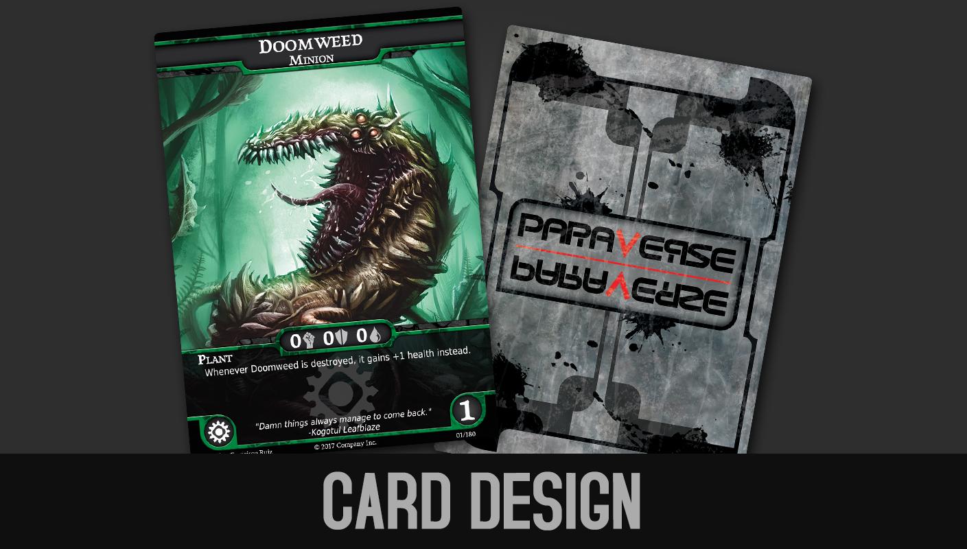 Paraverse | Card Design