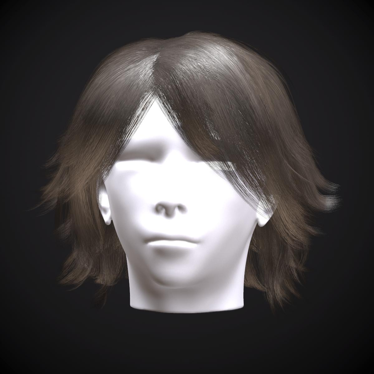 Female hair Volume 1
