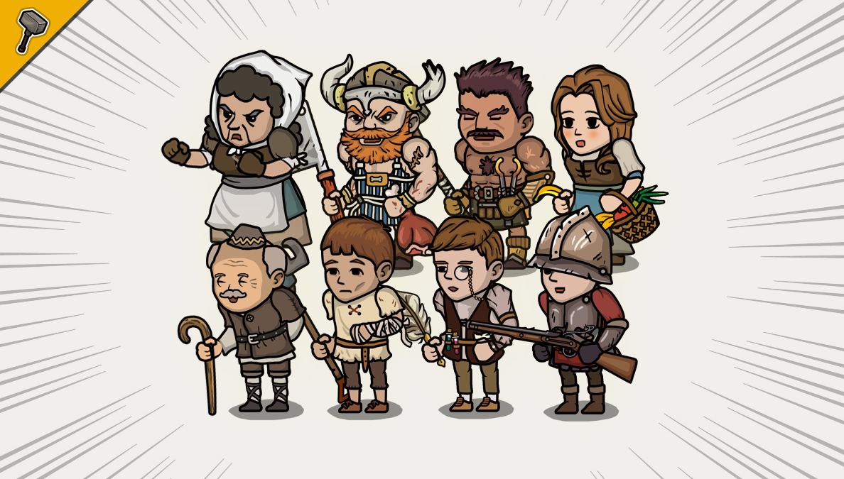 2D Village NPC Character Pack