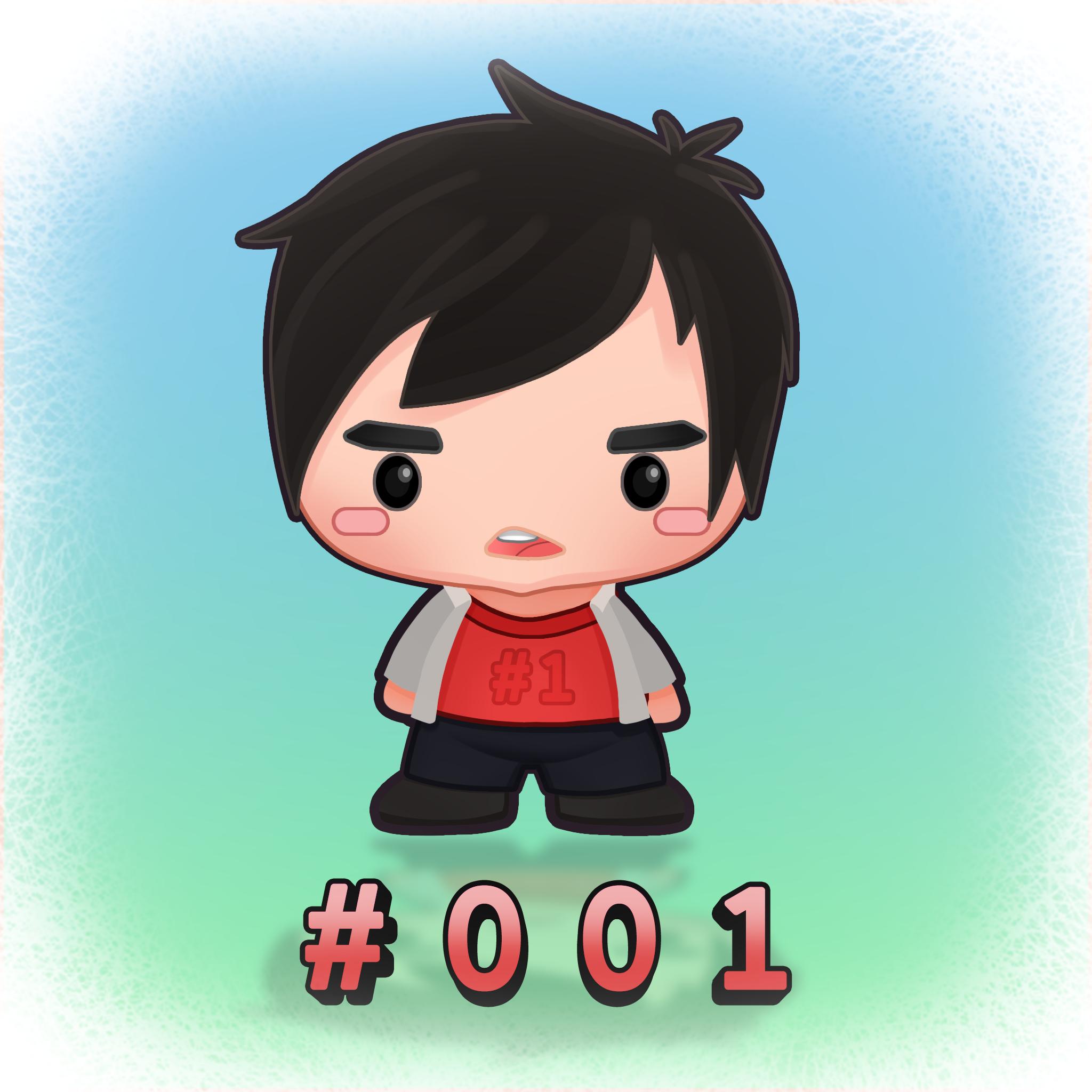Cute 2D character