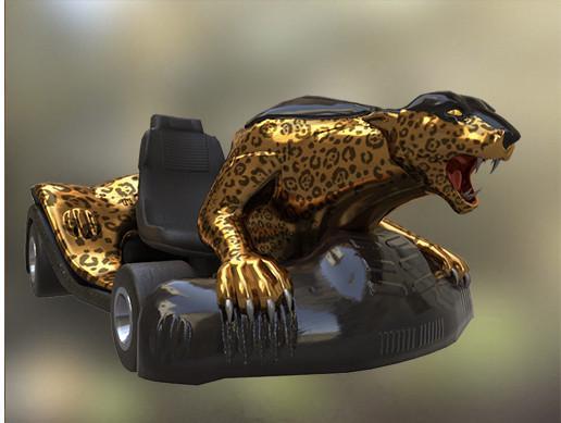 Leopard Go Kart