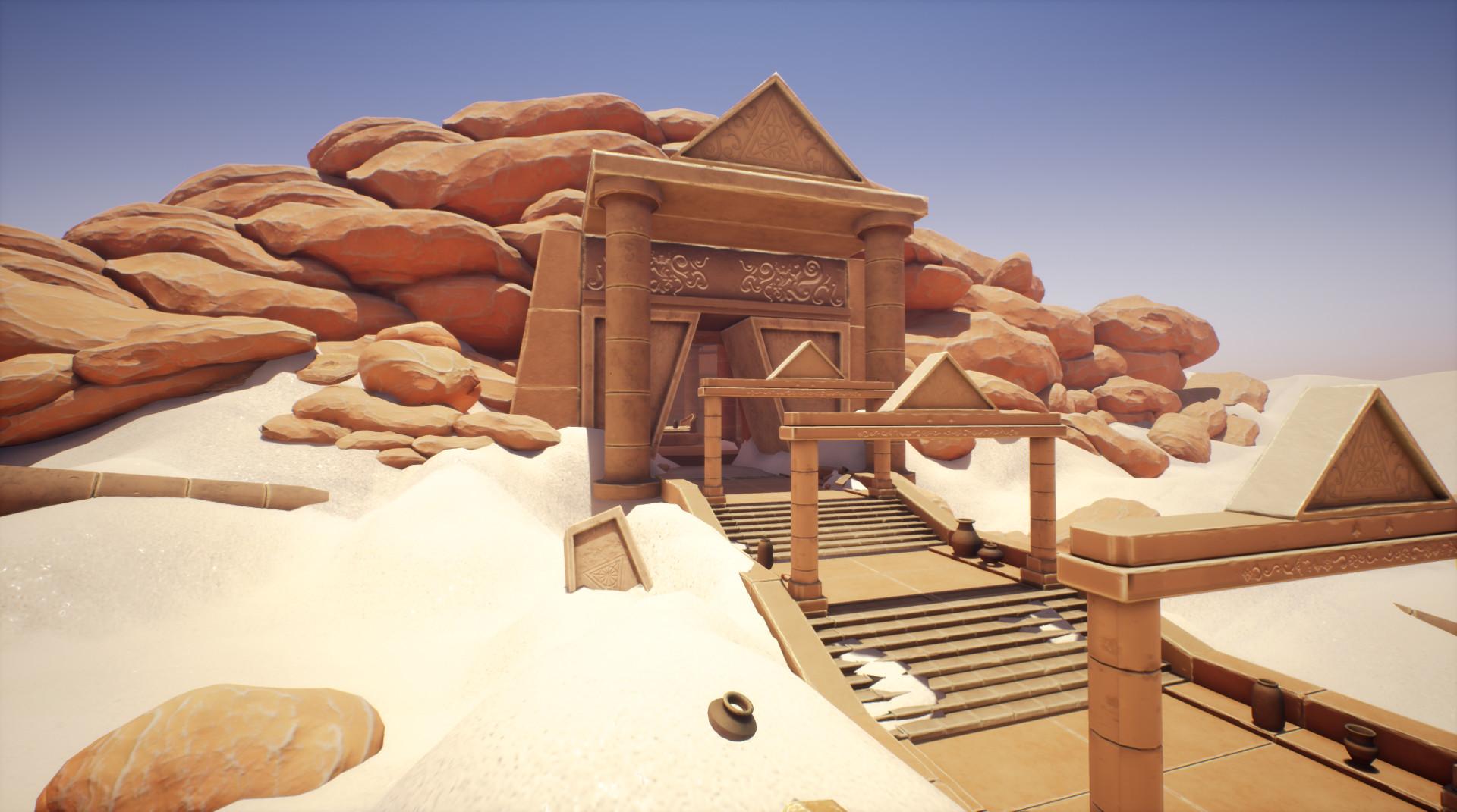 Sun temple environment