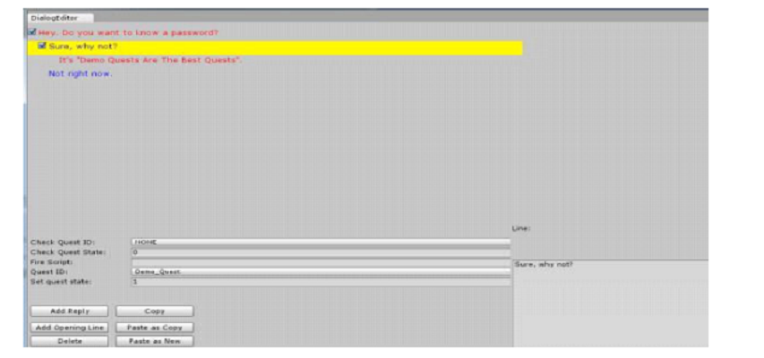 Dialog Editor – Unity Extension